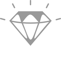 ALL CLEAN Diamond mark of quality
