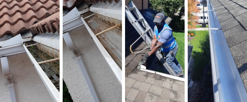 Residential Window Cleaning Photo